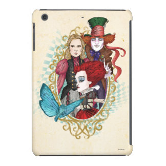 The Queen, Alice & Mad Hatter 3 iPad Mini Retina Case