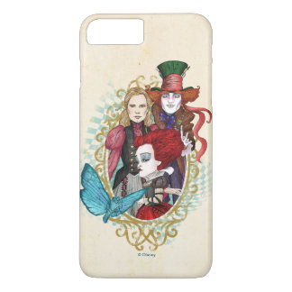 The Queen, Alice & Mad Hatter 3 iPhone 7 Plus Case