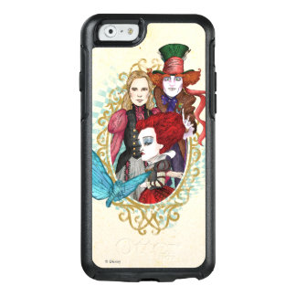 The Queen, Alice & Mad Hatter 3 OtterBox iPhone 6/6s Case