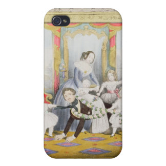 The Queen and Prince Albert at Home Cover For iPhone 4