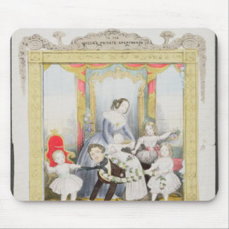 The Queen and Prince Albert at Home Mouse Pad