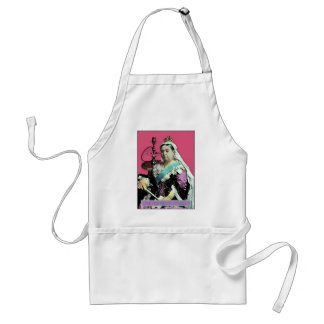 The Queen and The Hookah Adult Apron