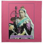 The Queen and The Hookah Cloth Napkins