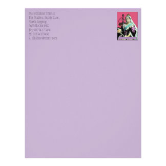 The Queen and The Hookah Letterhead