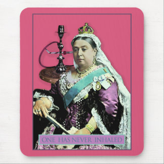 The Queen and The Hookah Mouse Pad