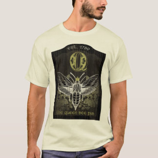 The Queen Bee Pub Sign T-Shirt