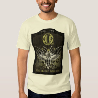 The Queen Bee Pub Sign Tshirt