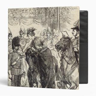 The Queen distributing Victoria Crosses Binder