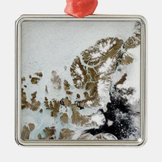 The Queen Elizabeth Islands 2 Metal Ornament