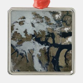 The Queen Elizabeth Islands Metal Ornament