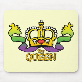 The Queen gets the BIG beads Mousepads
