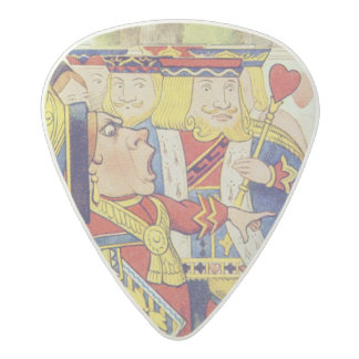 The Queen has come! And isn't she angry.' Acetal Guitar Pick