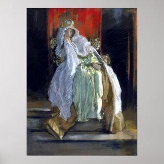 """The Queen In """"Hamlet"""" Poster"""