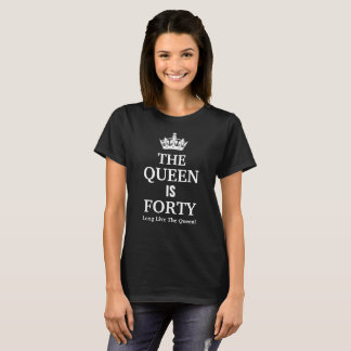 The Queen is 40, Long Live the Queen! T-Shirt