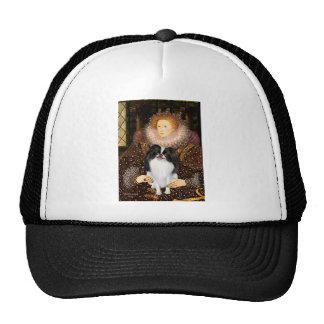 The Queen - Japanese Chin 3 Trucker Hat