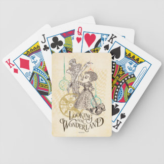 The Queen & Mad Hatter | Looking for Wonderland 3 Bicycle Playing Cards