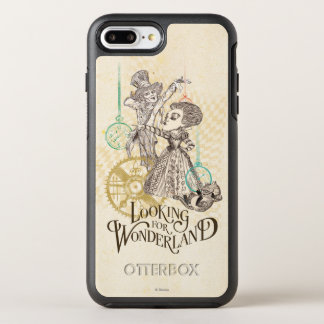 The Queen & Mad Hatter | Looking for Wonderland 3 OtterBox Symmetry iPhone 7 Plus Case