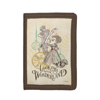 The Queen & Mad Hatter | Looking for Wonderland 3 Tri-fold Wallets