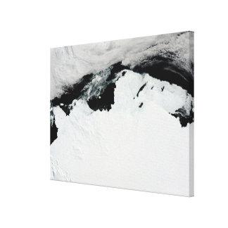 The Queen Mary Coast of Antarctica Gallery Wrap Canvas