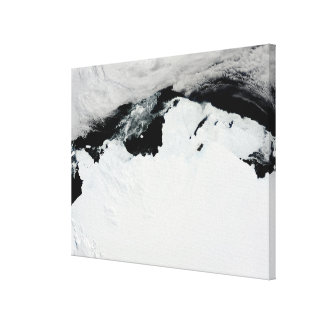 The Queen Mary Coast of Antarctica Stretched Canvas Prints