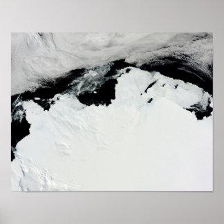 The Queen Mary Coast of Antarctica Print