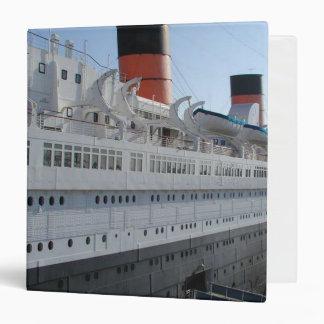 The Queen Mary Long Beach Keepsake Binder