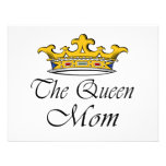 The Queen, Mom! T-shirt & gift ideas for mom. Personalized Invite