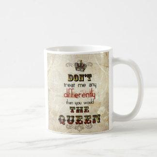 The queen mug