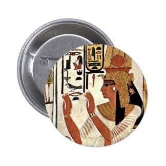 The Queen Nefertari In Prayer Stance By Maler Der Button