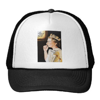 The Queen 'nose' she picked a diamond year. Trucker Hat