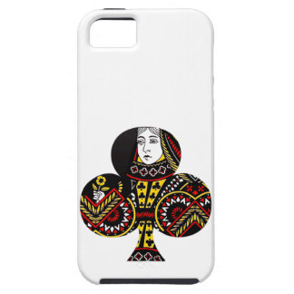 The Queen of Clubs iPhone 5/5S Cover