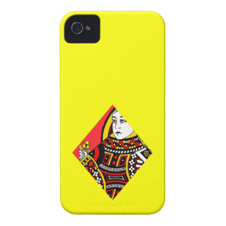 The Queen of Diamonds iPhone 4 Covers