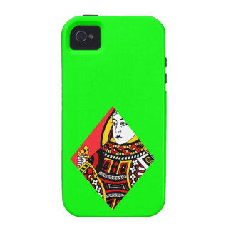 The Queen of Diamonds iPhone 4/4S Cover