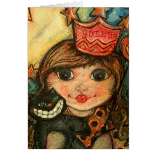 The Queen of Halloween Card