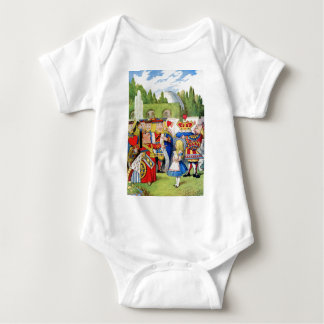 THE QUEEN OF HEARTS AND ALICE IN WONDERLAND SHIRT