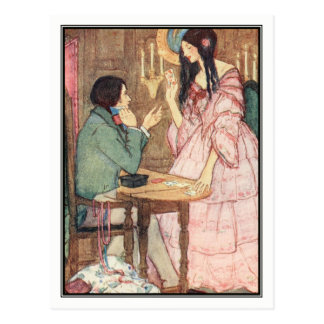 The Queen of Hearts by Florence Harrison Postcard