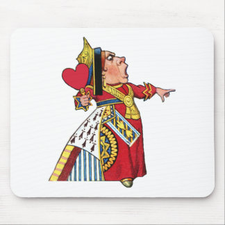 The Queen of Hearts is in Charge! Mouse Pad