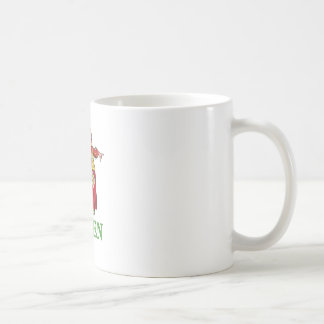 THE QUEEN OF HEARTS IS LARGE AND IN CHARGE COFFEE MUG