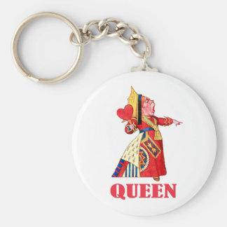THE QUEEN OF HEARTS KEYCHAIN