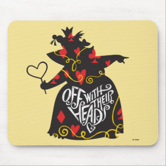 The Queen of Hearts | Off with Their Heads Mouse Pad