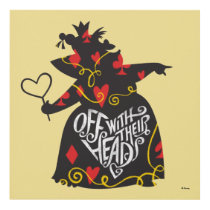 The Queen of Hearts | Off with Their Heads Panel Wall Art