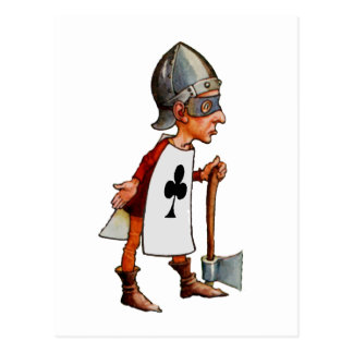 The Queen Of Hearts Official Executioner Postcard