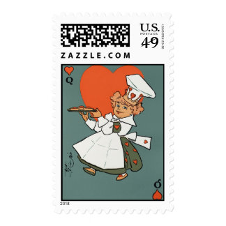 The Queen Of Hearts Stamps