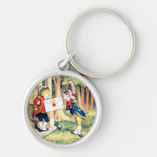 The Queen of Hearts Requests Your Presence Keychain