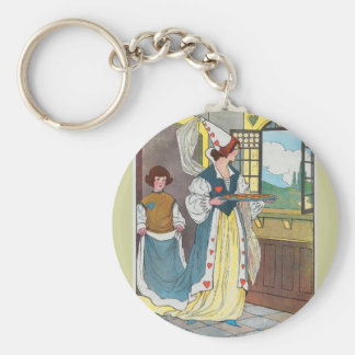 The Queen of Hearts, She made some tarts Keychain