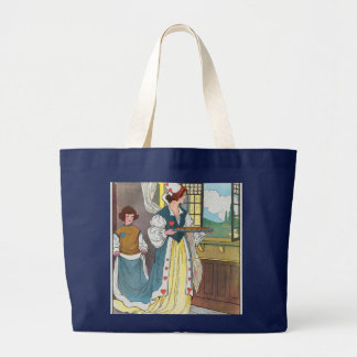 The Queen of Hearts, She made some tarts Large Tote Bag