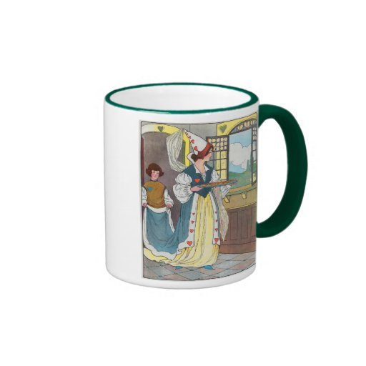 The Queen of Hearts, She made some tarts Coffee Mug