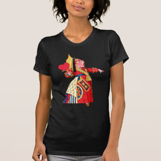 "The Queen of Hearts Shouts, ""Off With Her Head!"" T-Shirt"