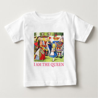 "The Queen of Hearts Tells Alice, ""I Am the Queen!"" Baby T-Shirt"