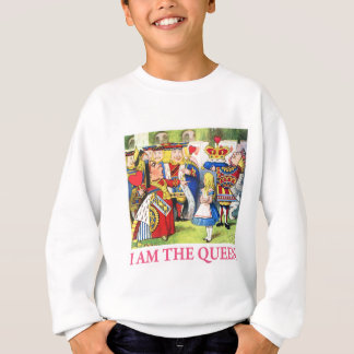 "The Queen of Hearts Tells Alice, ""I Am the Queen!"" Sweatshirt"